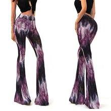 Fashion Ladies Skinny Flare Bell Bottom Bootcut Stretch Rerto Trousers  Women Pants 9a5e37df0bef