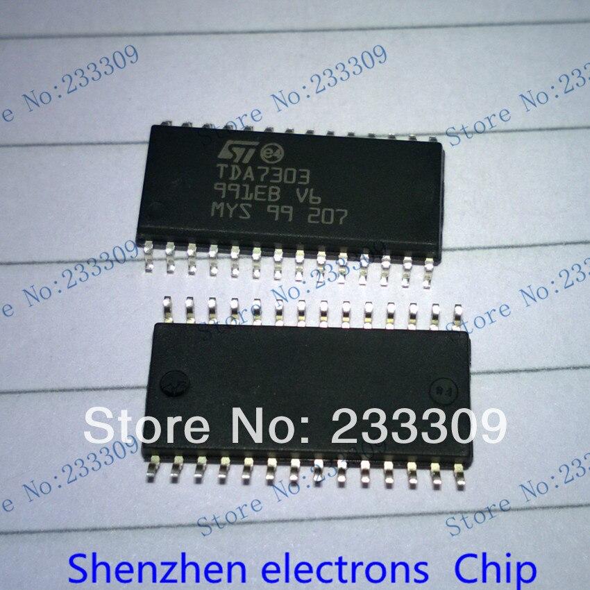TDA7303 TDA 7303 ST SOP28 Digital controlled stereo audio