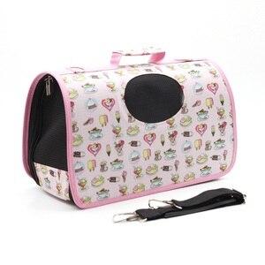 Image 3 - Mylb sacs pour chiens, Oxford, sac à dos, souple, de voyage, à bandoulière pour animaux domestiques, pour chiots, petits chats, porteuse respirant en plein air