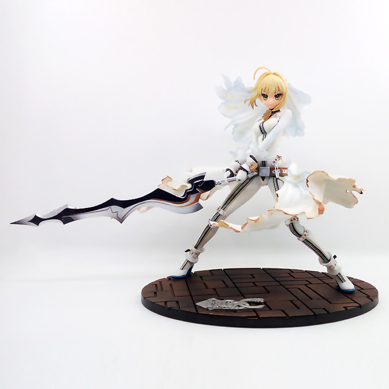 LED Figure No Box Anime Fate//Stay Night Saber Altria Pendragon Kimono Dress Ver