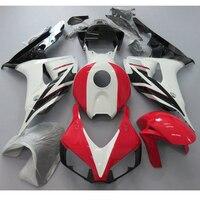 Motorcycle Fairings For CBR1000RR CBR1000 CBR 1000 RR 2006 2007 06 07 ABS Plastic Injection Fairing Kit Bodywork White red paint