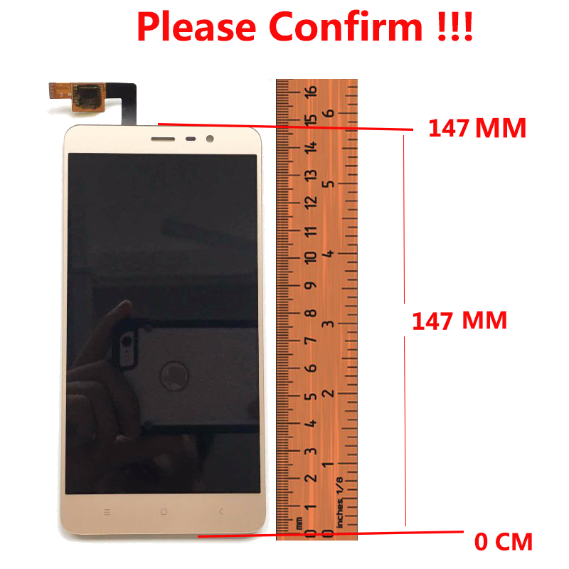 For Xiaomi Redmi Note 3 Pro LCD Display Touch Screen 5 5 quot Digitizer Assembly Replacement For Xiaomi Redmi Note 3 Pro Prime Phone in Mobile Phone LCD Screens from Cellphones amp Telecommunications