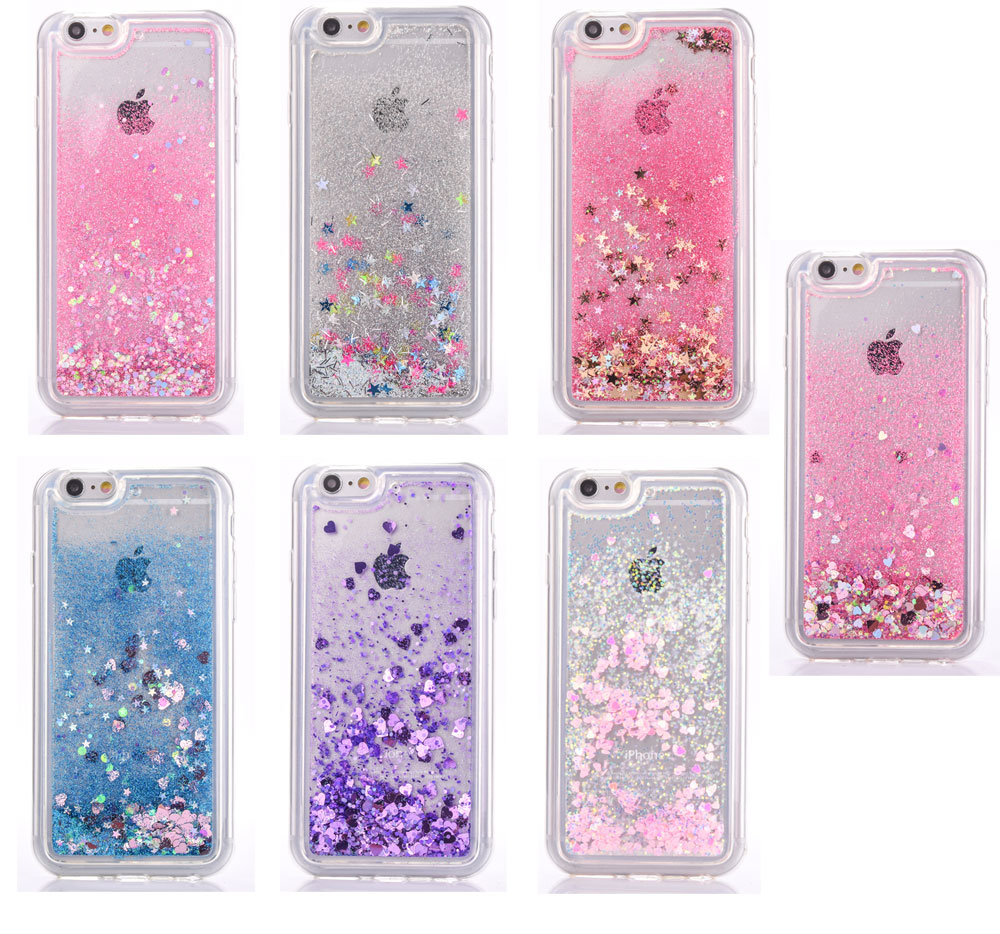 luxury fashion liquid glitter sand star quicksand clear silicone tpuluxury fashion liquid glitter sand star quicksand clear silicone tpu phone cases cover for apple iphone 5 5s 6 6s 6splus 6s plus