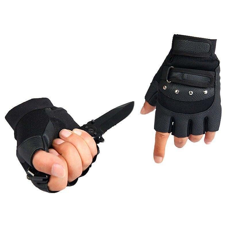 Fitness protective riding sport half finger gloves male half finger slip Xinji pro biker mcs 01a motorcycle racing full finger protective gloves blue black size m pair
