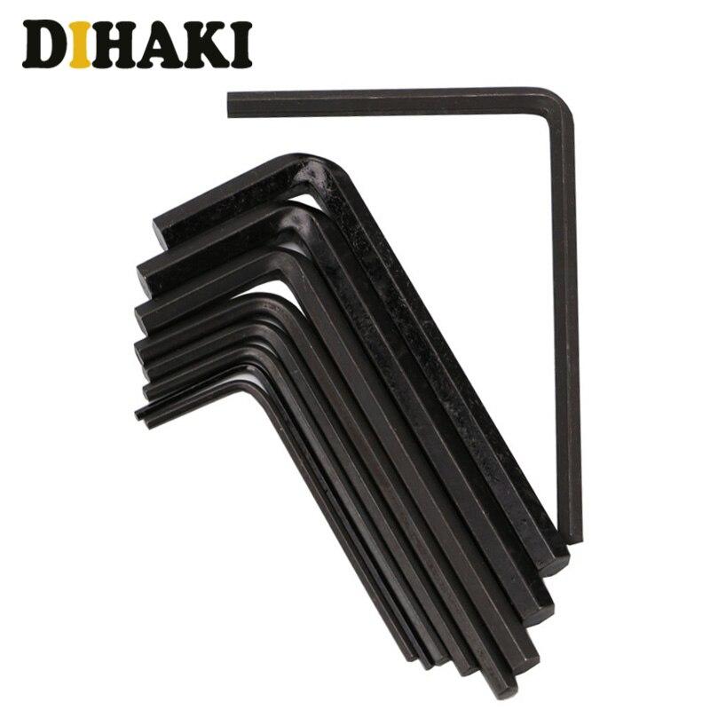 20 Pcs Tap Stirbt Set Einstellbare Metric Carbon Stahl Hand Schraube Wasserhähne Halter Gewinde Gauge Schlüssel Werkzeug Für Auto Reparatur D15 Handwerkzeuge
