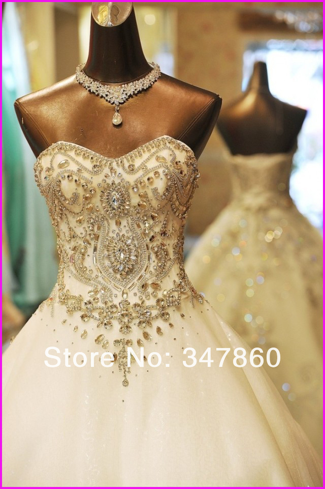wedding dresses. Sexy Bling Bling with fully embellished stones through out  bodice real made dress high quality custom made factory for six years f78a2577499d