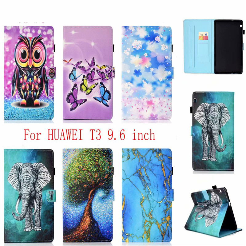 For Huawei Mediapad T3 10 AGS-L09 AGS-L03 9.6 tablet Flip Stand Leather Cover ProtectorFor Huawei Mediapad T3 10 AGS-L09 AGS-L03 9.6 tablet Flip Stand Leather Cover Protector