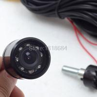 25mm Wire 7 IR Diameter Automobile Rear View Backup Cameras Parking Car back Cameras LED Night Vision Assistances