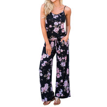 bbc408b4be6c New Fashion Summer Women Floral Print V neck Jumpsuit Any Occasion Clubwear  Playsuit Bodycon custom fit