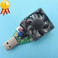 ª Classe Industrial Eletrônico resistor de Carga USB Interface de Descarga capacidade de teste de bateria com ventilador ajustável atual 15 w