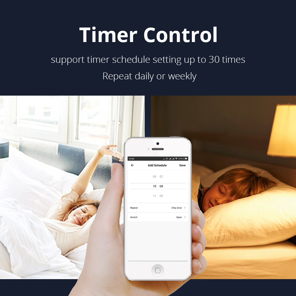 Window Opener witch Switch Alexa Google Home TUYA APP enable Timer WiFi  Fenster Remote Control