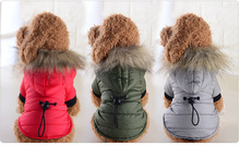 New Winter Pet Dog Clothes Super Warm Down Jacket For Small Dogs Waterproof Coat Thicker Cotton Hoodies Chihuahua XS-XL