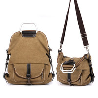 Hot Brand Canvas Backpack Bag For 13 14 Inch Laptop Travel Business Office Worker Bag School