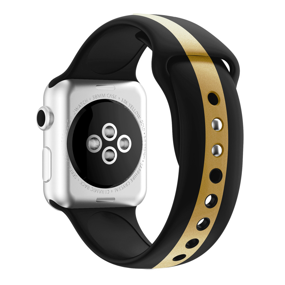 CRESTED Strap For Apple Watch Band Apple Watch 5 4 3 Iwath Band 44mm 40mm 42mm 38mm Correa Silicone Bracelet Watchband Belt