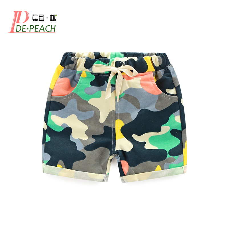 Fashion Baby Boys Girls Camouflage Shorts Toddler Baby Kids Sports Pants New Summer Cotton Children's Clothes Boys Casual Shorts 2018 baby cotton summer cute cartoon 2pcs kids baby boys girls t shirt top shorts pants set clothes children casual toddler 1 9y