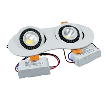 14W/20W  led COB light recessed in AC85 -265V indoor led ceiling light warm white/white/Nature white with led driver