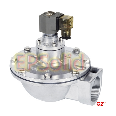 Free Shipping 2'' or 2.5'' Aluminum Alloy Body Right Angle Pulse Solenoid Valve DMF Z 50S or DMF Z 62S