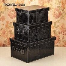 Lodge leather wardrobe storage box car trunk storage box finishing boxes contained storage box large shipping
