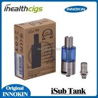 100% Orijinal Innokin iSub Tankı 4.0 ml Atomizer Ayarlanabilir Hava Akımı alt-ohm PC Clearomizer Paslanmaz Çelik iSub Atomizer