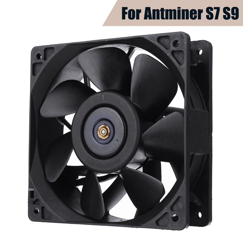 CPU Cooler PC Cooling Fans Replacement 6000RPM 4 Pin Connector For Antminer Bitmain S7 S9 Computer Case Cooling Fan For PC CPU laptops replacement accessories cpu cooling fans fit for acer aspire 5741 ab7905mx eb3 notebook computer cooler fan