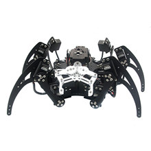 Assembled 20DOF Aluminium Hexapod Robotic Spider Six Legs Robot with Claw & LD-1501 Servos & Controller for Arduino Diy
