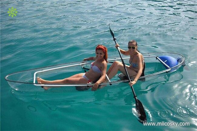 Ocean Kayak For Sale >> 2015 Hot Sale 100 Clear Transparent Pc Material Ocean Kayak Canoe