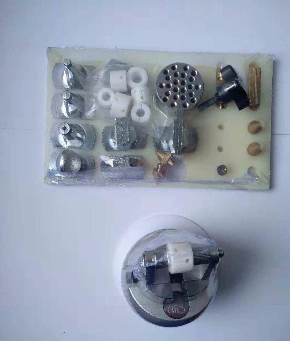 Бесплатная доставка инструменты для установки алмазов тиски мяч Блокировка мяч с Multy аксессуар