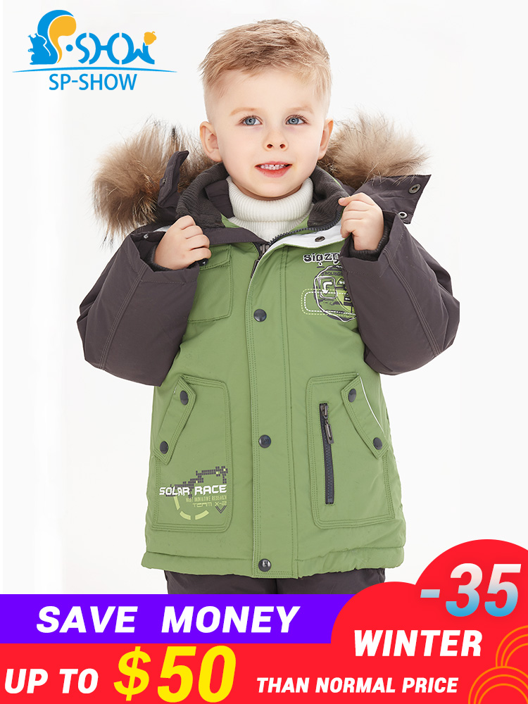 ac1cb8500 2019 SP SHOW Luxury Brand Children Winter Children s suit Jacket Boy ...
