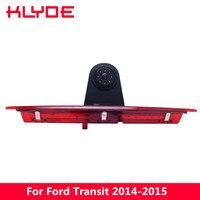 Klyde 170 градусов HD Ночное видение автомобиля Высокое качество стоп заднего вида Камера для Ford Transit 2014 2015 модель