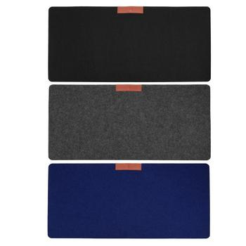 Hot Soft Wearable Mice Pad Office Computer Desk Mat Modern Table Wool Felt Laptop Cushion Large Mouse pad Gaming mouse pad