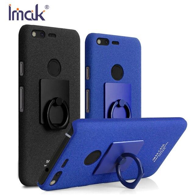 pretty nice e44b0 f0105 US $7.22 15% OFF Original Imak Cover for Google Pixel XL Case Ultra Slim  Hard PC Matte Cowboy Phone Case for Google Pixel XL Cover + Ring Holder-in  ...