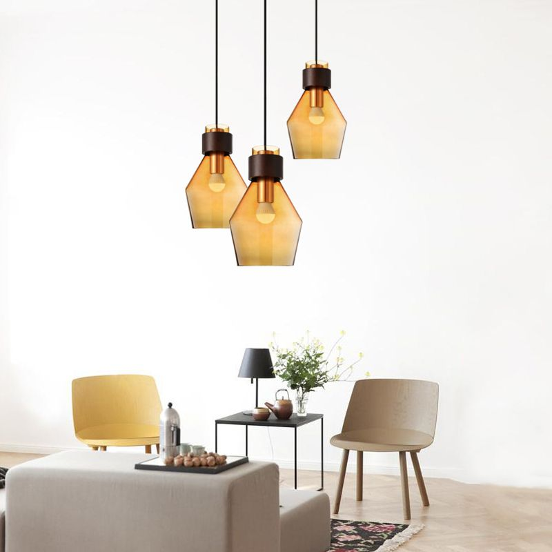 Contemporary contracted Nordic pastoral creative Restaurant bar sitting room coffee shop Lighting Glass chandelierContemporary contracted Nordic pastoral creative Restaurant bar sitting room coffee shop Lighting Glass chandelier