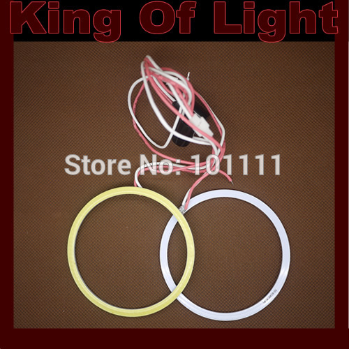 10X 60mm Angel Eye COB Halo Ring Halo Light Waterproof LED Lighting With 2 Lampshades free shipping