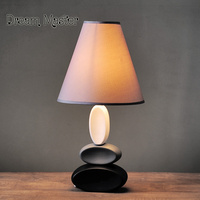 Nordic Desk Bedroom Bed Creative American Ceramic Simple Modern Warm Study Decorative Table Lamp