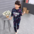 2017 New Arrived Baby Girl In Children Clothing Set Spring Children Clothes Sets Baby Kids Children New Fashion Shirt