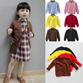 Autumn Children Clothing O-Neck Casual Girls Sweater Boys Ropa Mujer Pull Enfant Garcon Girl Cotton Outerwear Cute Brand Coat