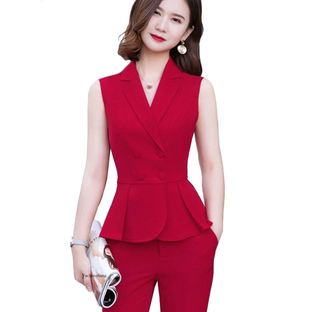 Новая мода для женщин Девушка двубортный короткий жилет без рукавов Блейзер Куртка Верхняя одежда Пальто Красный абрикосовый белый черный