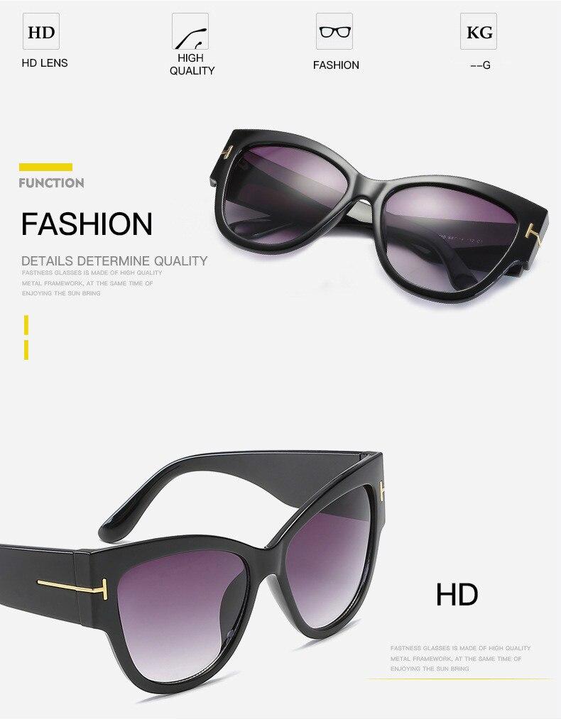 Moda Olho de Gato Óculos De Sol 2017 Mulheres Verão Oversize Quadrado  Clássico Marca Designer sunglasses mulheres UV400 óculos de Sol das mulheres  Dos ... 1d832e107f