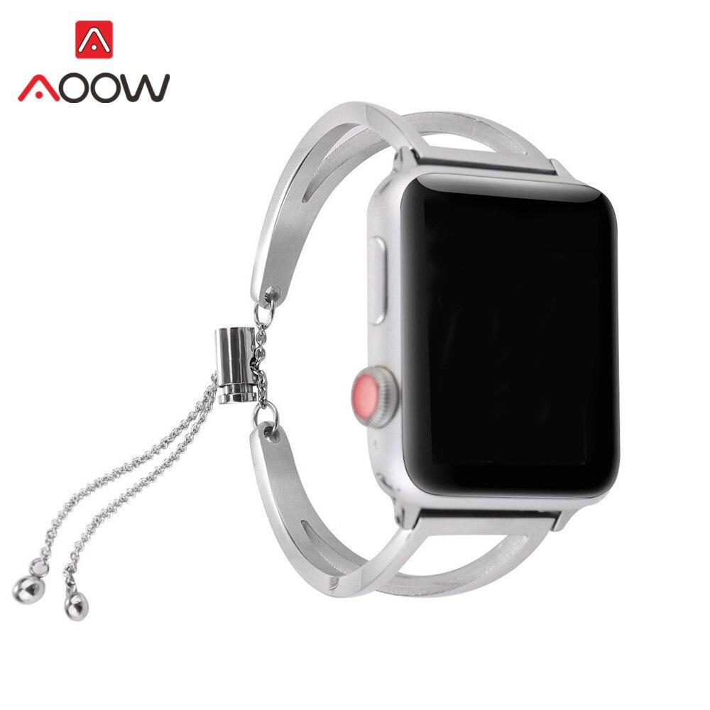 Stainless Steel Bracelet for Apple Watch 38mm 42mm Luxury