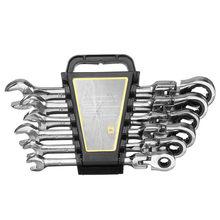 6 pçs/pçs/set engrenagens conjunto chave de extremidade aberta chaves atividades ferramentas reparo catraca para bicicleta chave torque combinação chave chave allen chaves