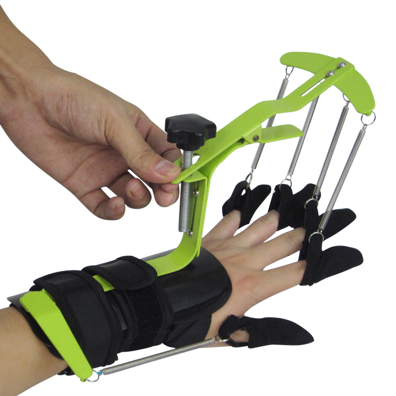 Hand Physiotherapy Rehabilitation Training Equipment Dynamic Wrist and finger Orthosis for HEMIPLEGIA Patients Tendon repair
