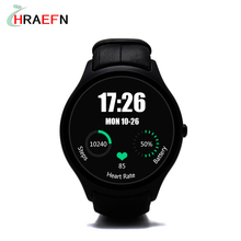 Hraefn D5+ Android 5.1 3G Smartwatch wrist watch hombre cell phone 1GB RAM 8GB ROM Heart Rate Monitor bluetooth Smart Watches