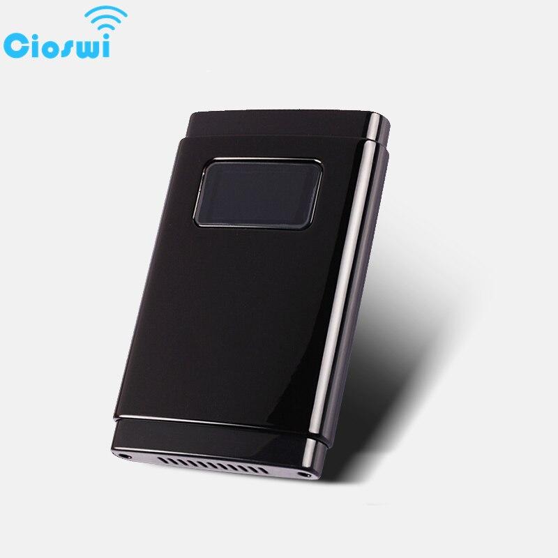 Cioswi Mini voiture Portable 3G 4G Lte Modem routeur Wifi sans fil avec fente pour carte SIM Mifi pour les affaires de voyage 2500mAh longue veille