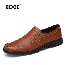 Plus Size Genuine Leather Men Casual Shoes Two Style Mens Loafers Moccasins Breathable Slip On Driving Shoes Men цена