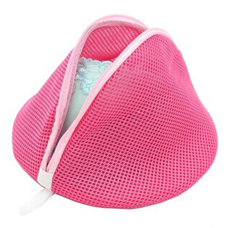 Laundry Women Bra Lingerie Washing Hosiery Saver Protect Aid Mesh Cube Bag