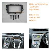 ZWNAV 11 195 radio samochodowe stereo zestaw do montażu Panel konsoli dla TOYOTA Prius (ZVW30/35) (prawe koło) konsola wykończenia deski rozdzielczej z zestaw montażowy w Deski rozdzielcze od Samochody i motocykle na