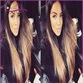 Высочайшее качество ombre человеческих волос парики Фронта Шнурка два тона Парики Glueless Полный Шнурок человеческих волос Парики С Ребенком Волос, Парики, Кружева мода
