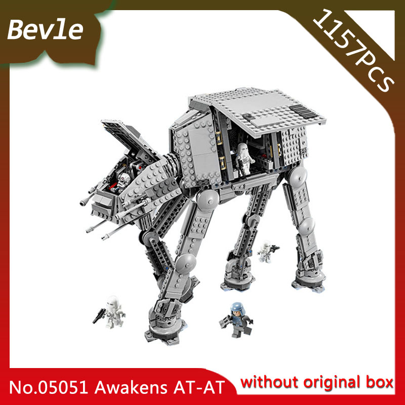 Doinbby Store 05051 1157Pcs star space Series AT-AT transport Armor Model Building Set Blocks Bricks For Children Toys 10178
