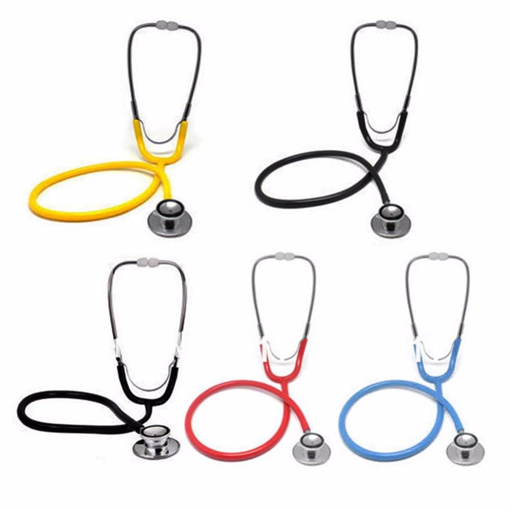 Portabel Dual Kepala Stetoskop Klinis Medis Perangkat Auskultasi - Perawatan kesehatan - Foto 2
