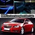Для Chevrolet Optra Nubira Недвижимости J200 интерьер Окружающего Освещения Тюнинг Атмосфера Волоконно-Оптических Ленточные Огни Двери Панель освещения